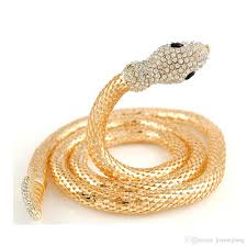 necklace golden images Chock necklace golden silver snake chain necklace diamond long jpg