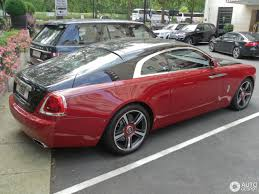 matte red rolls royce rolls royce wraith 3 september 2016 autogespot