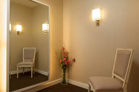 room creative fitting room lighting decorating idea inexpensive