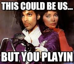Bands Make Her Dance Meme - sign o the times the internet s 17 best prince memes and gifs