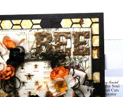 gypsy soul laser cuts bee home decor plaque by ginny