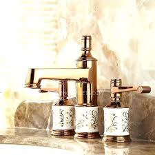 gold plated bathroom faucets gold bathroom faucet for modern