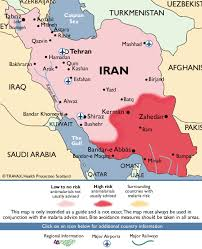 map or iran iran malaria map fit for travel
