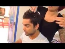 hairstyles new ealand virat kohli s new hair style before the world cup youtube