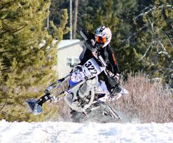 motocross snow bike ama championship snow bike series round 6 u2013 practice u2013 west
