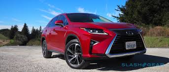lexus rx red 2016 lexus rx 350 fwd review slashgear
