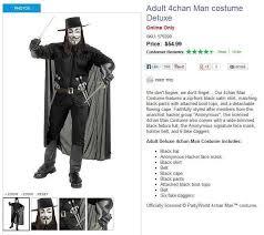 Anonymous Halloween Costume Anonymous Cringe