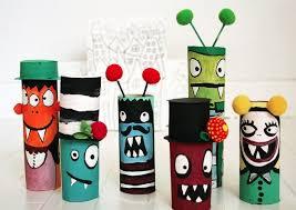 monsters wc rollen crea divers pinterest cardboard tubes