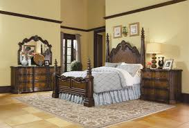 fancy bedroom sets for little girls homesfeed fancy bed frame with classic styled headboard and footboard dark brown painted wood bedside table with