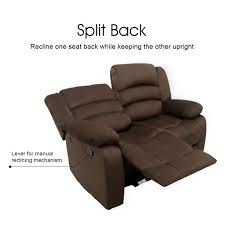 Sofa Recliner Mechanism by Amazon Com Langria 1 2 3 Seat Reclinable Sofa And Reclining