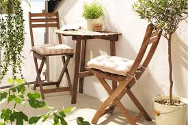 Ikea Bistro Table 5 Small Patio Dining Sets For The City Dweller