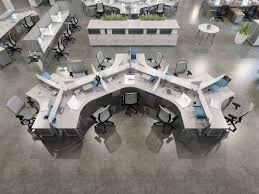 Workstation Desk  Laminate  Metal  Contemporary UP Tayco - Tayco furniture