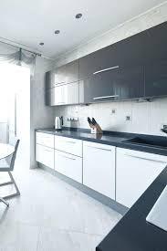 High Gloss Black Kitchen Cabinets Modern White Gloss Kitchen Cabinets Sabremedia Co