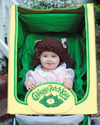 80s Halloween Costumes Kids Cabbage Patch Baby Costume Idea Totally 80s