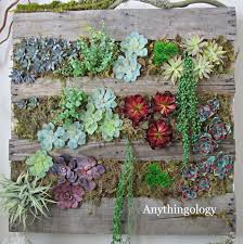 Pallet Garden Wall by Anythingology July 2012