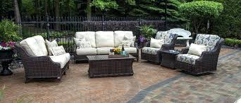 Rattan Patio Furniture Sets All Weather Wicker Patio Set This Picture Here All