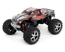 nitro rc monster trucks traxxas t maxx 3 3 4wd rtr nitro monster truck black tra49077 3