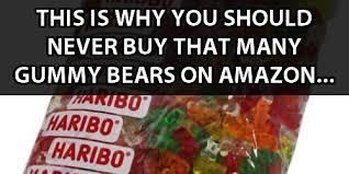 Da Bears Meme - guys order 5 pounds of gummy bears hilarity ensues quickmeme