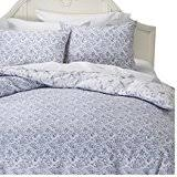 amazon com simply shabby chic twin bed comforter set pretty blue