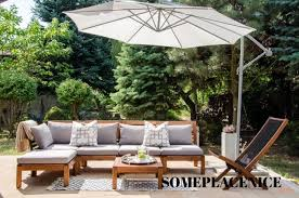 Ikea Backyard Furniture Taras Wypoczynek Ikea Applaro Poduszki Hallo Someplacenice14