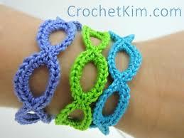 bracelet crochet patterns images Stretchy bracelets jpg
