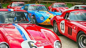 maranello italy ferrari 250 gto 55th anniversary rally florence boboli gardens