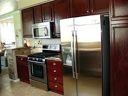 Diy Gel Stain Kitchen Cabinets Staining Kitchen Cabinets Espresso Thelodge Club