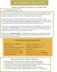 thanksgiving newsletter november newsletter u2013 montessori of aberdeen sd