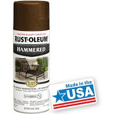 rust oleum hammered spray paint brown paint and sprays