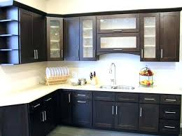 Staining Kitchen Cabinets White Espresso And White Kitchen Cabinets U2013 Truequedigital Info