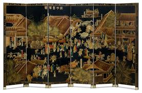 Chinese Room Dividers by Hand Painted Chinoiserie Floor Screen Asian Screens And Room