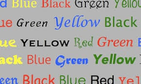 the stroop test how colourful is your language science the
