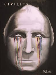 limited edition civility george washington life mask print by