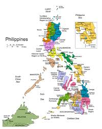 Map Of Al Maps Of Philippines Detailed Map Of Philippines In English