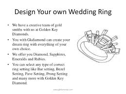 Design Your Own Wedding Ring by Create Your Own Engagement Ring Online 7923