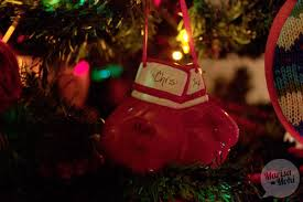 tree boxing glove ornament marisa mohi writing tips