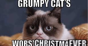 No Meme Grumpy Cat - grumpy cat s christmas movie see the first clip video