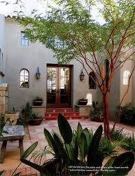 i have dreamed of having a home with a courtyard like this where