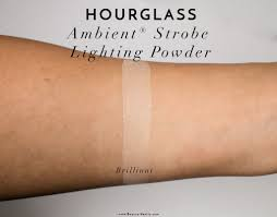 hourglass ambient lighting powder review hourglass ambient strobe lighting powder review swatches