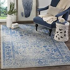 Blue Area Rugs 8 X 10 Amazon Com Safavieh Adirondack Collection Adr109a Grey And Blue