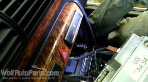 how to remove radio stereo audi a4 b5 1996 2001 wolf auto