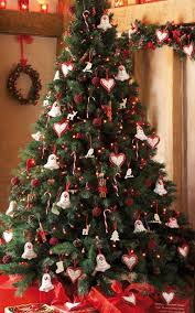 tree decorating ideas with bell and a sign of