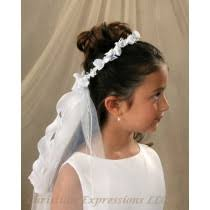 communion headpieces communion wreath veils wreath communion veils for