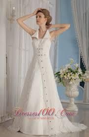 unique lace rhinestones apron wedding dress v neck collar us 327 16