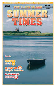 Ballards Beach Block Island Summer Times September 2016 By Blockisland Issuu