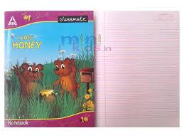classmate register classmate four line notebook 4 line rs 20