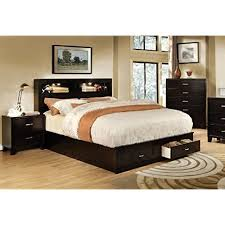 bed frames with storage drawers amazon com