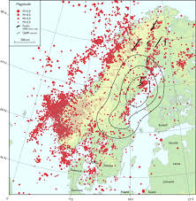 Scandinavia On Map Stress Change Over Short Geological Time The Case Of Scandinavia