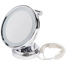 Lighted Wall Mount Vanity Mirror Accessories Lighted Cosmetic Mirror Conair Makeup Mirror