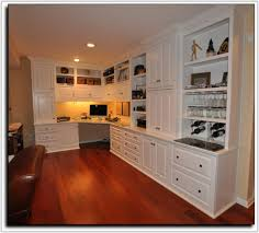 Built In Desk Cabinets Built In Office Desk Cabinets Cabinet Home Decorating Ideas